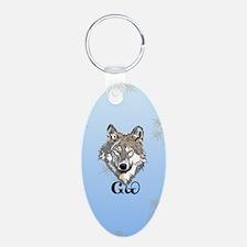 Cherokee Gray Wolf Keychains