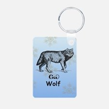 Cherokee Wolf Keychains