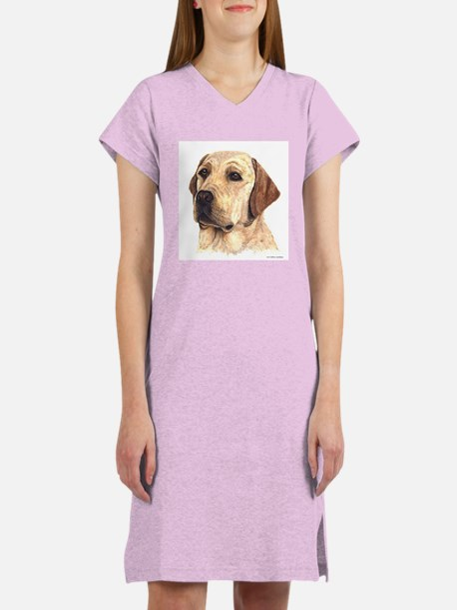 Cute Labrador retriever Women's Nightshirt