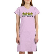 Hapa Nation 2 In A Women's Nightshirt