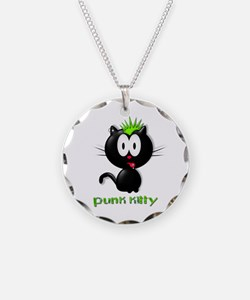 punk kitty Necklace