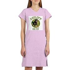 Agility Min Pin Women's Nightshirt