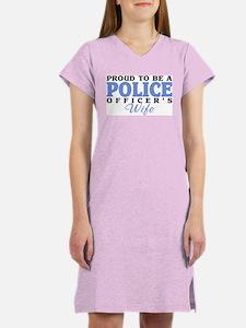 Proud Police Wife Women's Nightshirt