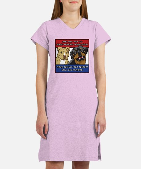 Anti-BSL Women's Nightshirt