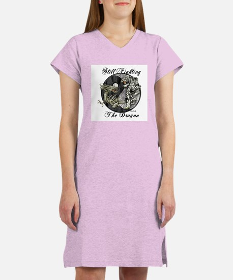 Dragon and TIger Women's Nightshirt