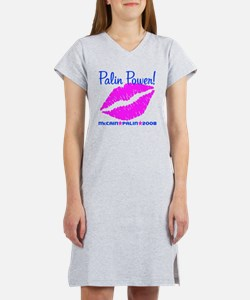 Pailn Power Lips Women's Nightshirt