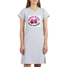 SSG's Wife Tougher Than the R Women's Nightshirt