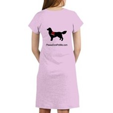 It's not a muzzle. Women's Nightshirt