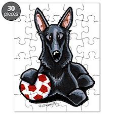 Black GSD Soccer Pro Puzzle
