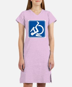 Wheelie Wasted! Women's Nightshirt