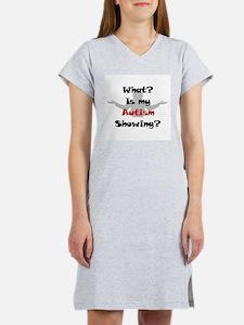 What? Austim Women's Pink Nightshirt