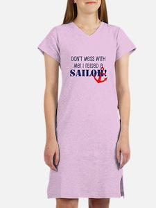 Raised a Sailor Women's Nightshirt
