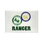 Riverside County Ranger Rectangle Magnet (100 pack