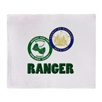 Riverside County Ranger Throw Blanket