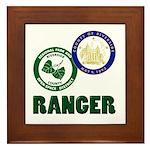 Riverside County Ranger Framed Tile