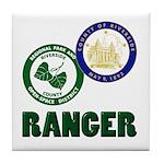 Riverside County Ranger Tile Coaster