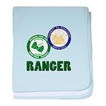 Riverside County Ranger baby blanket