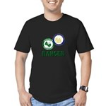 Riverside County Ranger Men's Fitted T-Shirt (dark