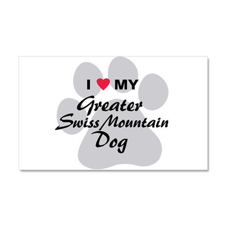 Greater Swiss Mountain Dog Car Magnet 20 x 12
