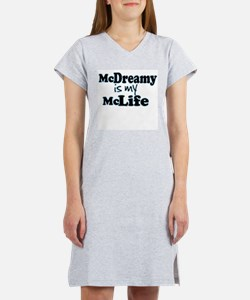 McDreamy is My McLife Women's Pink Nightshirt