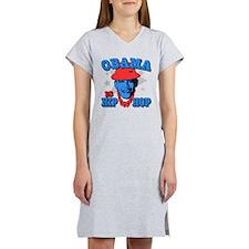 Obama is Hip Hop Women's Nightshirt