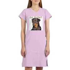 """Got Rottie?"" Women's Pink Nightshirt"