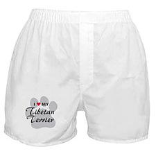Love My Tibetan Terrier Boxer Shorts