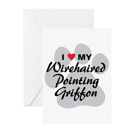 Wirehaired Pointing Griffon Greeting Cards (Pk of