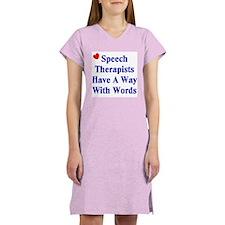 Speech Therapy Women's Nightshirt
