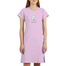 Love-a-Bull Pit Bull Women's Nightshirt