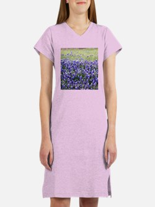 Texas Field of Blue Women's Nightshirt