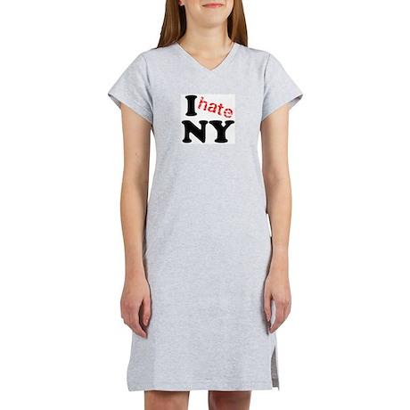 I hate NY Women's Nightshirt