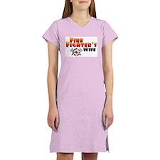Fire Fighter's Wife Women's Nightshirt