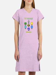 Women's Green Power Rally Nightshirt