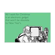 Obsolete Electronic Gadget Mini Poster Print