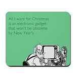 Obsolete Electronic Gadget Mousepad