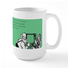 Obsolete Electronic Gadget Large Mug