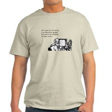 Obsolete Electronic Gadget Light T-Shirt