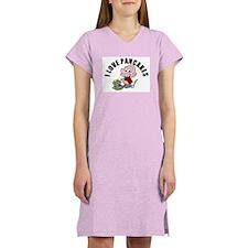 I Love Pancakes Women's Nightshirt