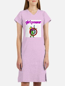 Girl Power Archery Women's Nightshirt
