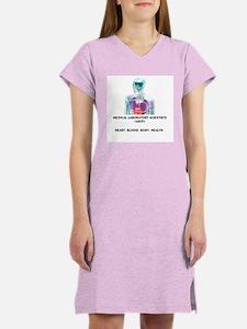 Med Lab Scientist Women's Nightshirt