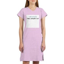 Midwives Help Poeople Out - Women's Nightshirt