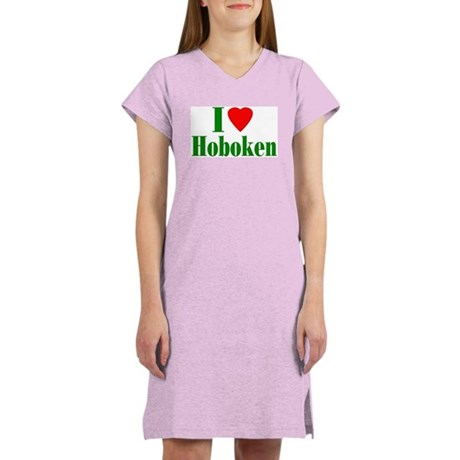 I Love Hoboken Women's Nightshirt
