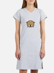 """Otter"" Women's Nightshirt"