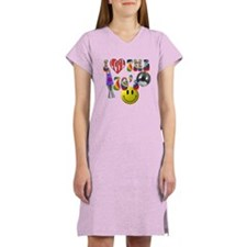 I Love The 70's Women's Nightshirt