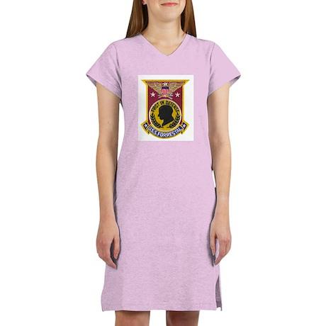 USS FORRESTAL Women's Nightshirt