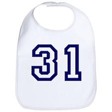 Number 31 Bib