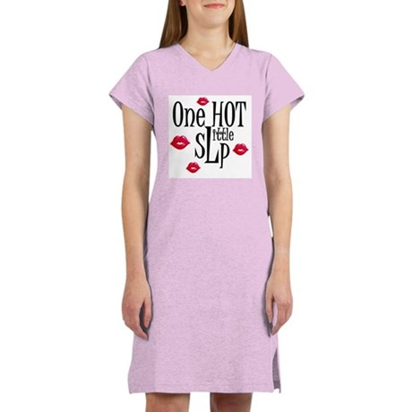 ONE HOT LITTLE SLP Women's Nightshirt