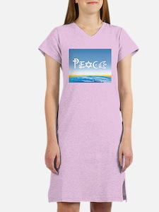 Peace On Earth at Sunrise Women's Nightshirt