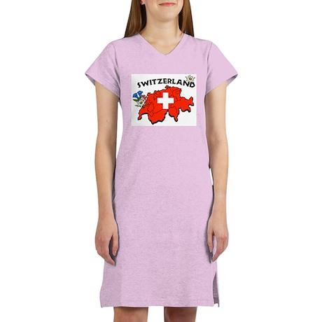 Switzerland Women's Nightshirt